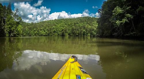 Lake Tugaloo Paddling-26