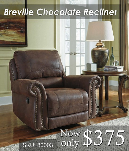 Breville Chocolate recliner