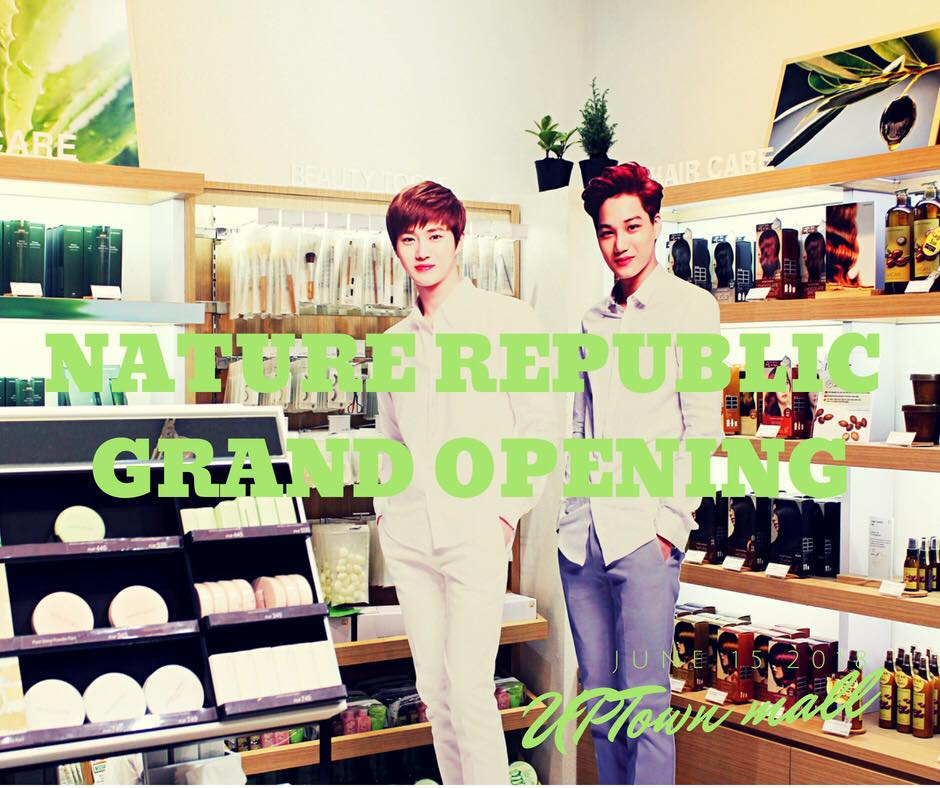 Nature Republic Grand Opening at UPtown Mall