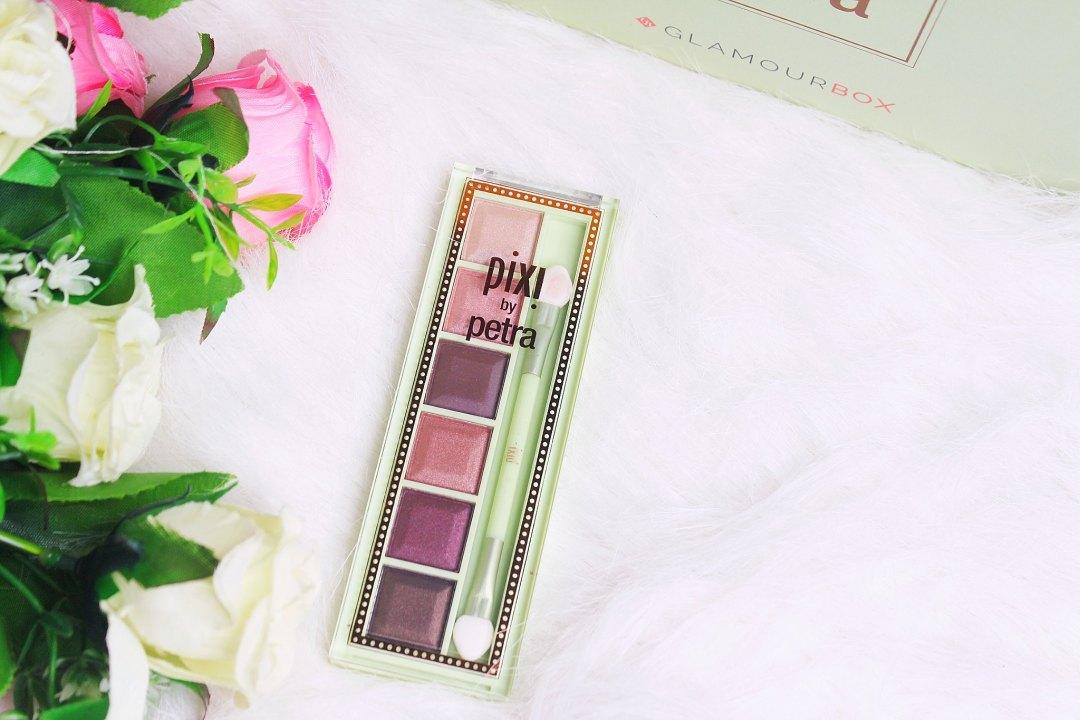 Wakeup to MakeUp Pixi Glamourbox MESMERIZING MINERAL PALETTE (Plum Quartz)