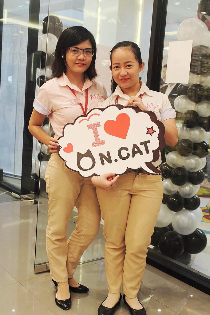 N.Cat Philippines friendly staff