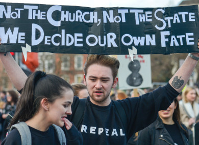 Image result for abortion referendum ireland