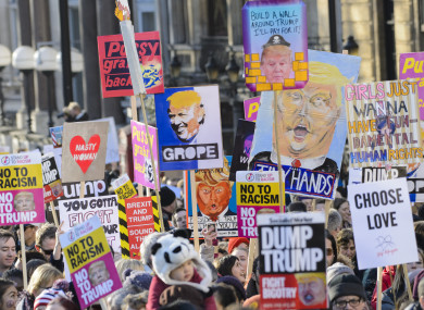 The 2017 Women's March in London