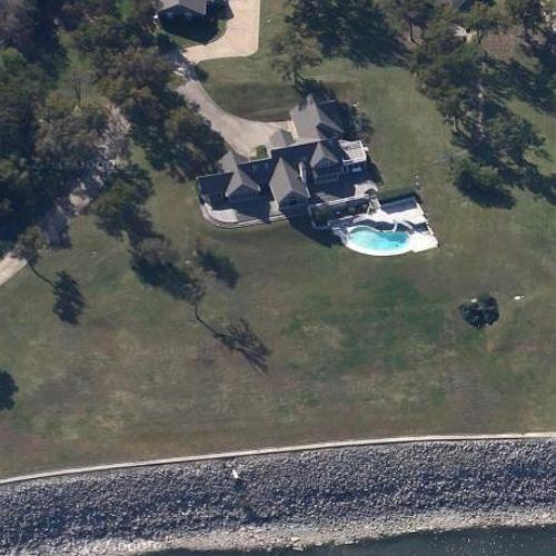 Ross Perots House In Denison TX Google Maps 4