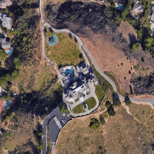 John Force House In Yorba Linda CA Google Maps