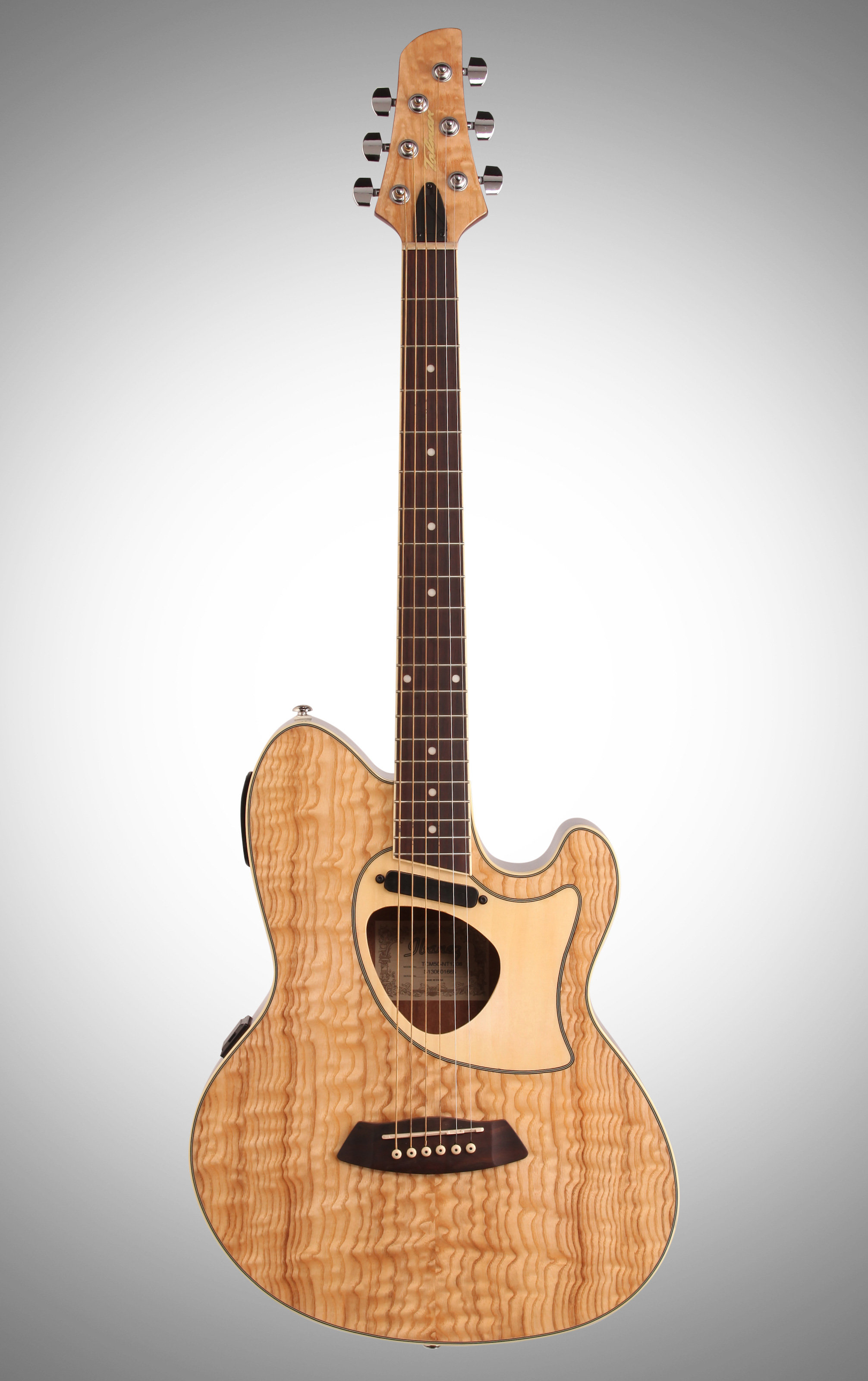 Ibanez Tcm50 Talman Cutaway Acoustic Electric Guitar Natural