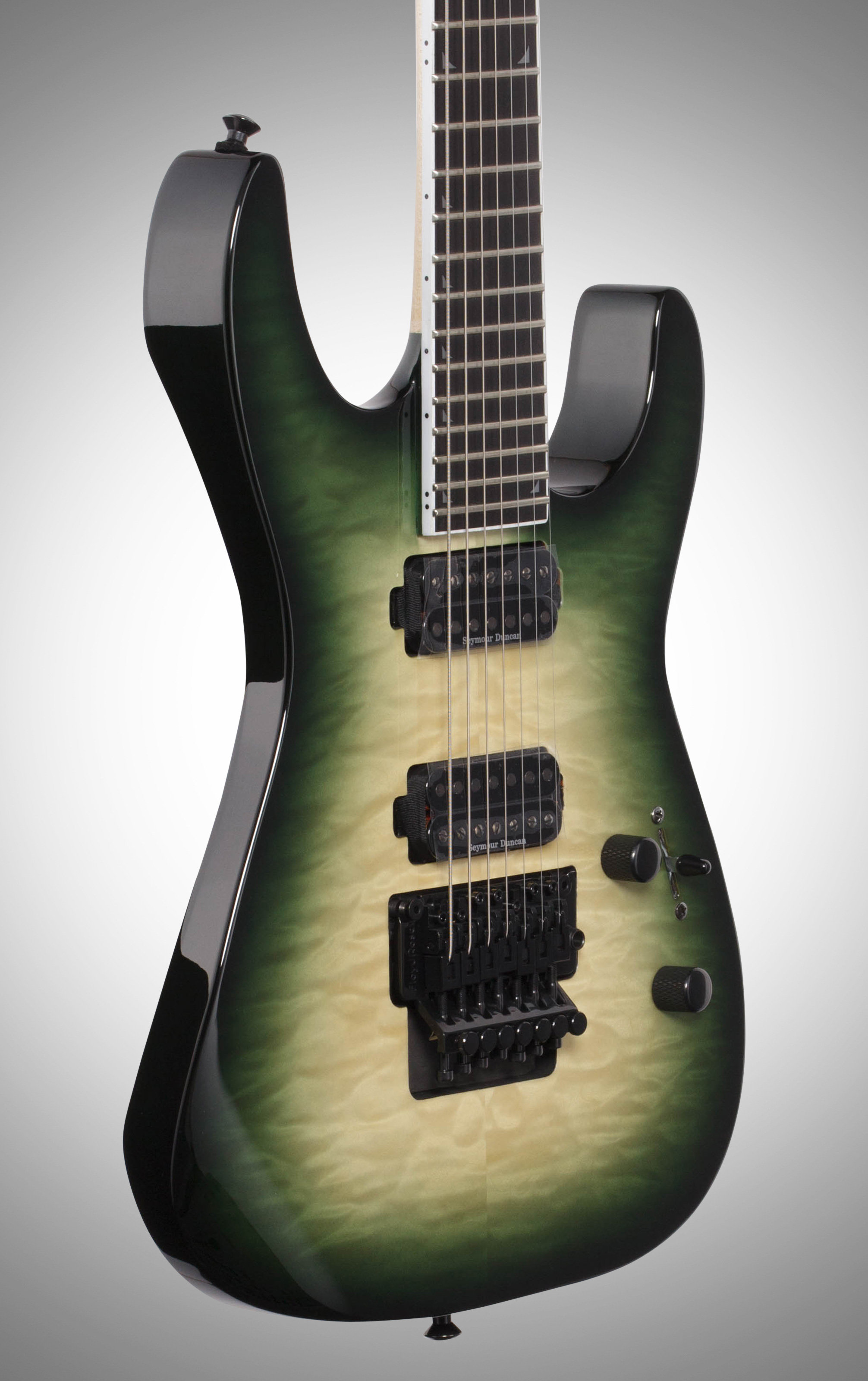 Jackson Sl7 Pro Soloist Electric Guitar 7 String With