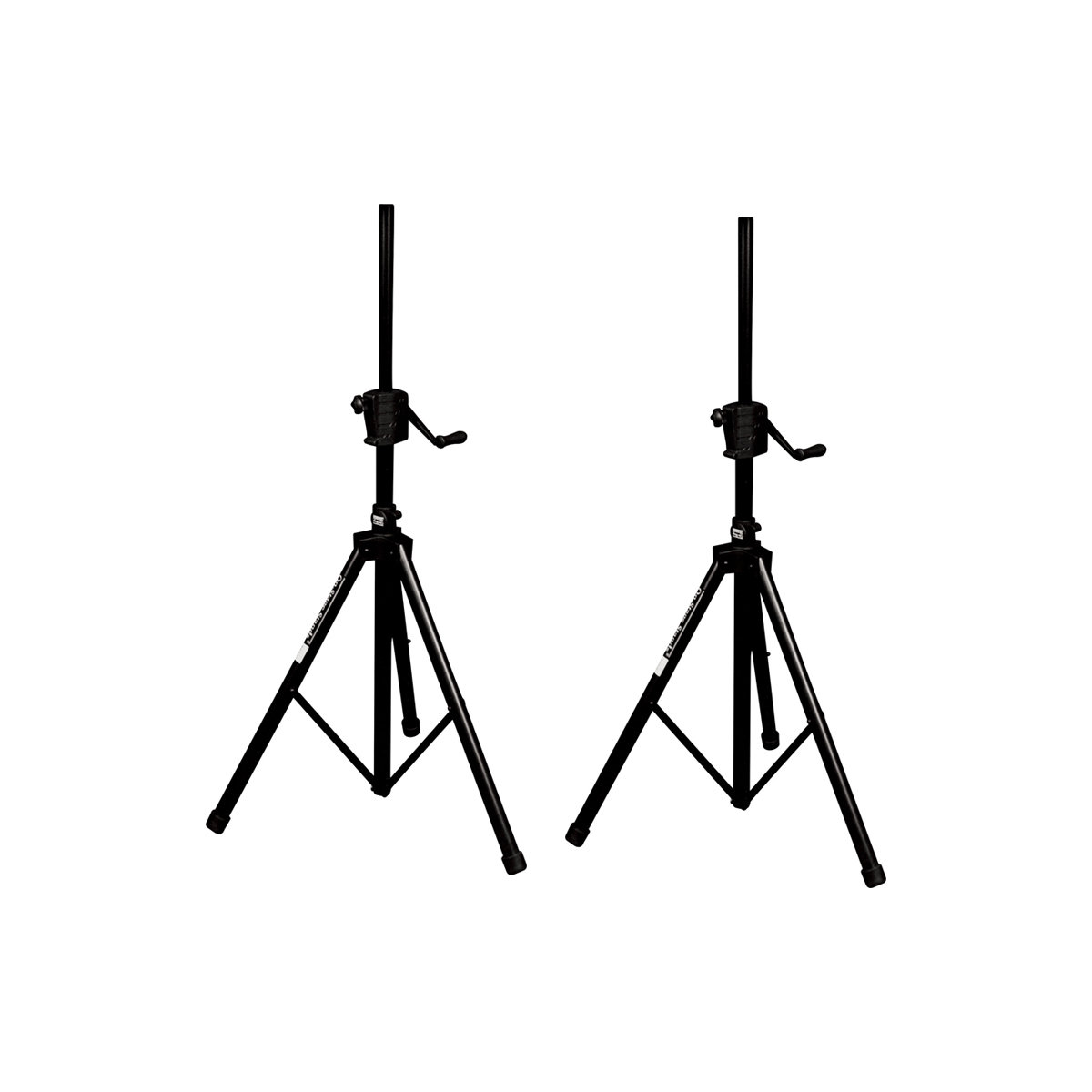 On Stage Ss B Plus Power Crank Up Speaker Stand 2 Pack