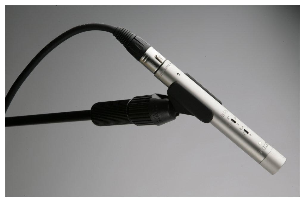 microfone condensador cápsula pequena