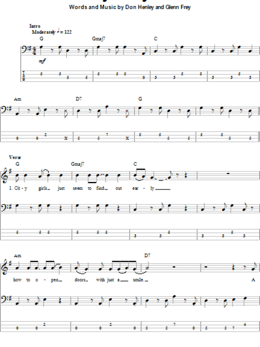 Beautiful Lyin Eyes Guitar Chords Gallery - Beginner Guitar Piano ...