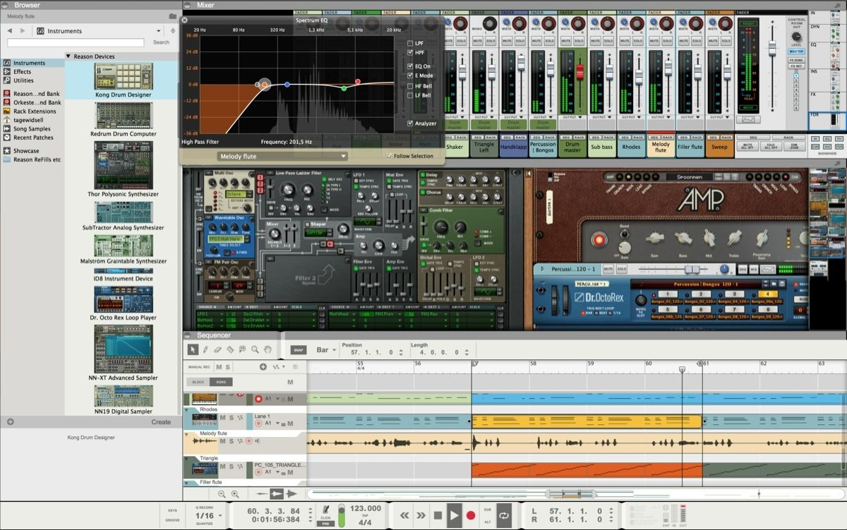 Propellerhead Reason 8 Music Production Software Zzounds