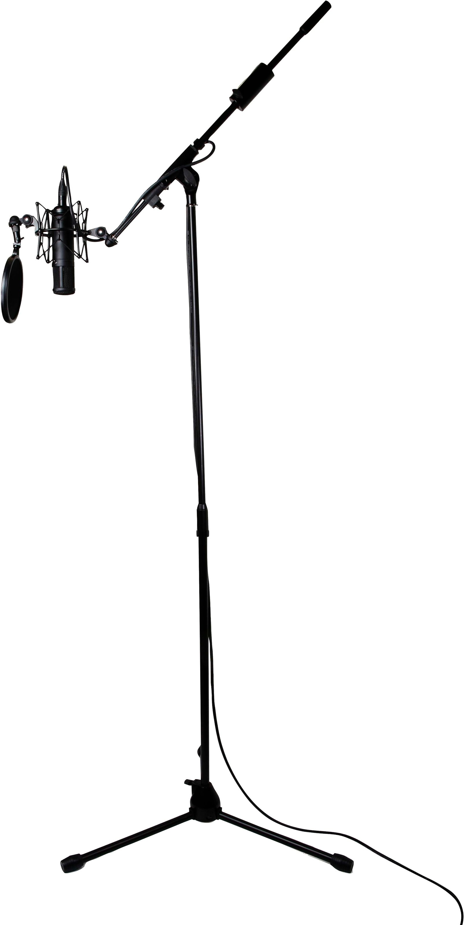 Tascam Tm Am1 Tripod Boom Microphone Stand