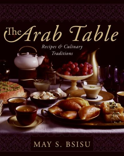 cookbook review of the arab table by may bsisu