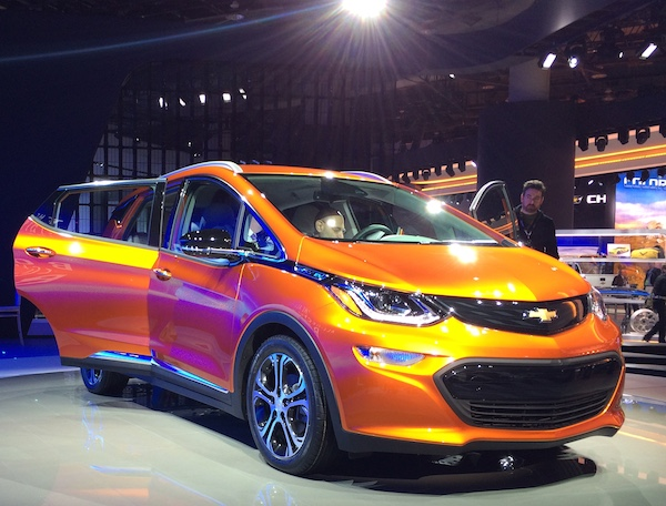 GM Chevy Bolt EV