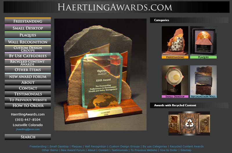 Haertling.com Awards