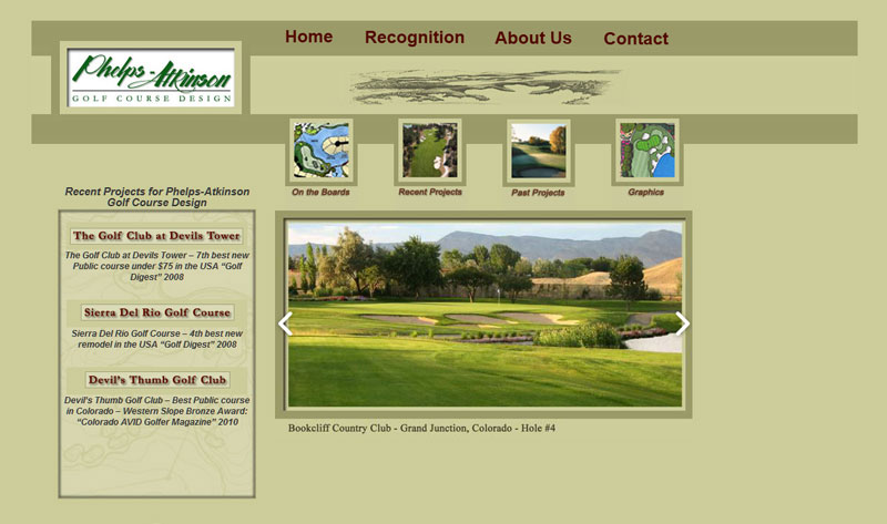 Phelps-Atkinson Golf Course Design