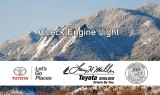 Check Engine Light Service at Boulder Toyota
