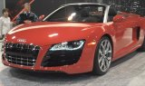 Audi R8 Spyder Display at the 2013 Denver Auto Show