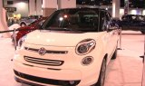 2014 Fiat 500L Display at the 2013 Denver Auto Show