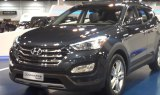 Hyundai Santa Fe Sport Display at the 2013 Denver Auto Show