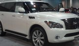 Infiniti QX56 Display at the 2013 Denver Auto Show