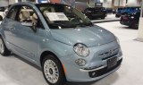 Fiat 500 at the 2015 Denver Auto Show