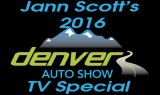 ann Scotts 2016 Denver Auto Show TV Special
