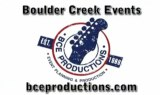 Boulder Creek Events Ad