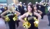 CU Football Cheerleaders Stampede