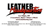 Leather Headquarters Colorado Motorcycle Expo