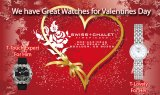 Swiss Chalet Watches - Valentine's Day