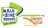 Community Cycles - Walk and Bike Month