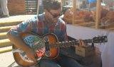 Blues Guitar at Farmers Market