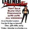 Leather Headquarters Big Tent Sale - Dec. 4th - 6th