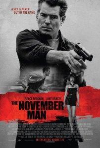 The November Man - Movie Poster
