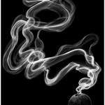 【厚塗り】帯のように漂う煙の描き方