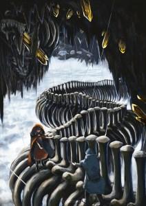 「竜骨回廊」