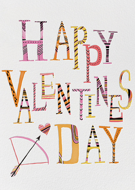 Valentine Arrow Carrie Gifford Online At Paperless Post