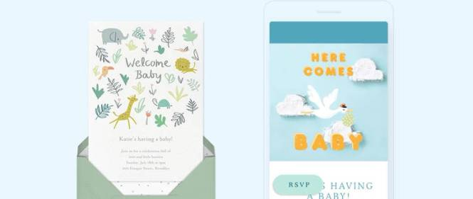 Online Baby Shower Invitations Send