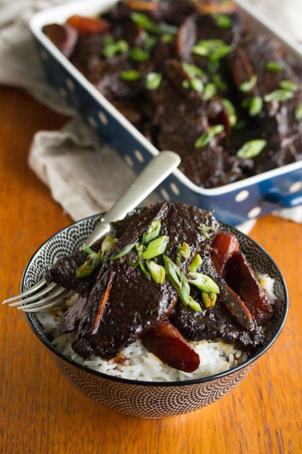 Soy-Braised Korean Short Ribs