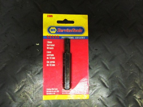 "Napa 12 Point ""Serrated Wrench"" for Rod Bolts (part# 2305)"