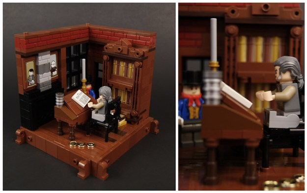Lego Christmas Carol 1 - Scrooge's Office