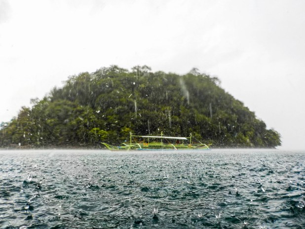 Lluvia en Port Barton