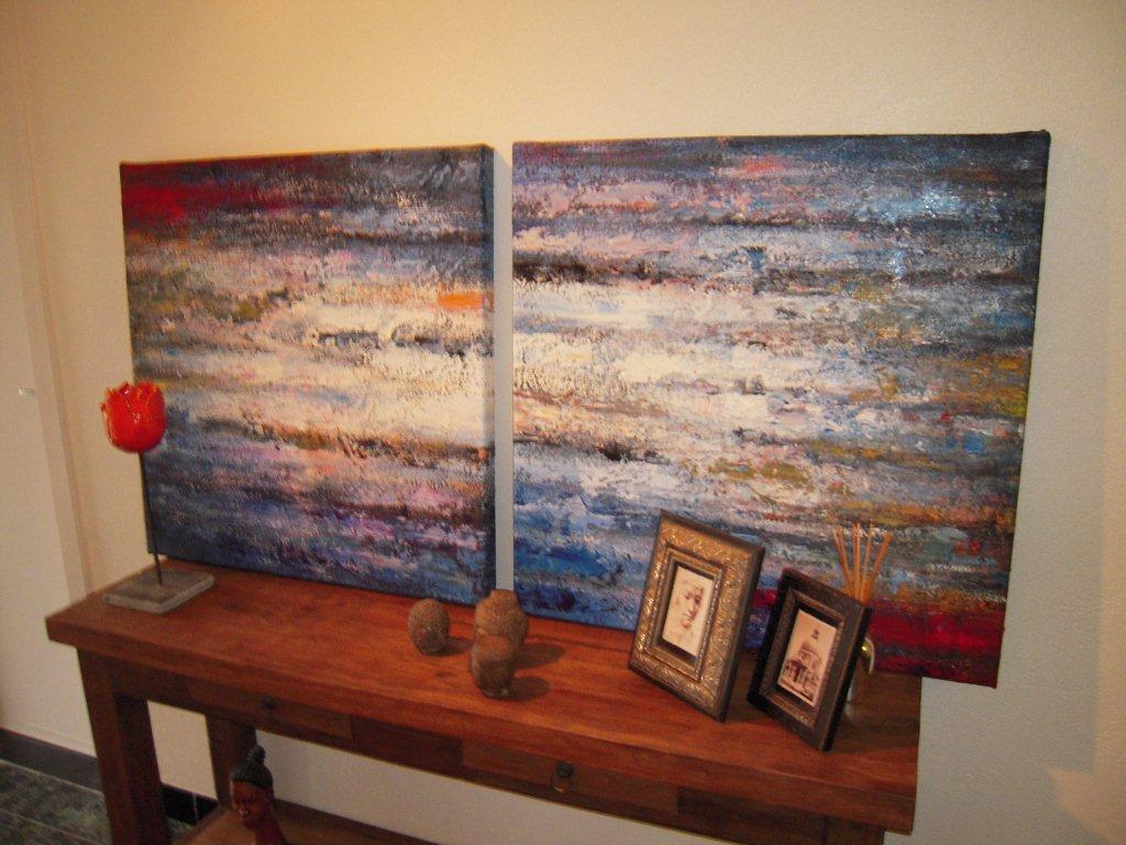 Abstracte Schilderijen Te Koop Kopen Www Fabelart Com Flickr