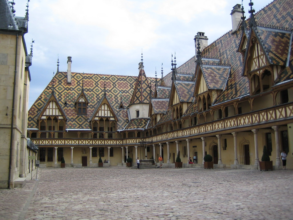 Beaune Medieval Hospital Hotel Dieu Beaune France Flickr