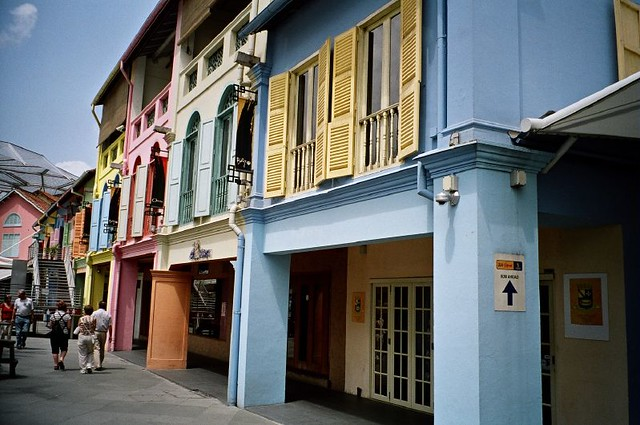 Old Houses In Singapore Bhakti Dharma Flickr
