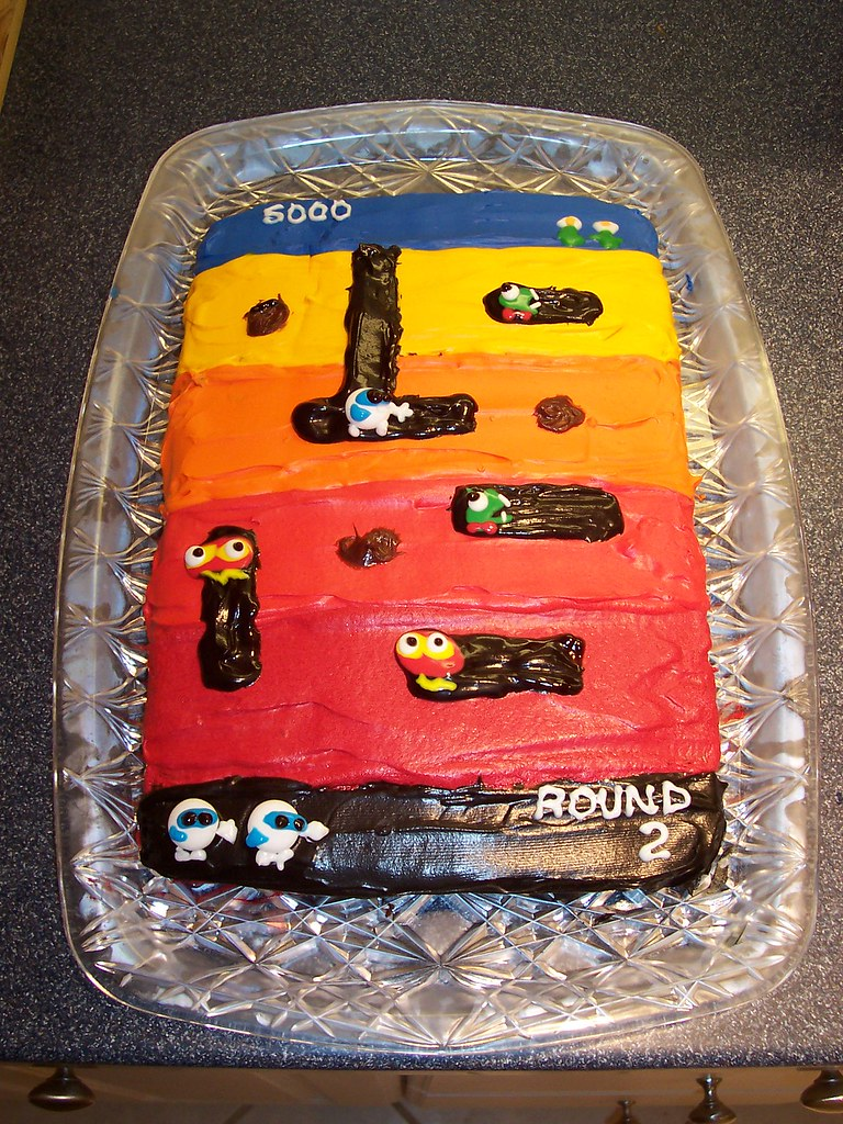 Digdugcake One Of My Husbands Favorite Atari Games