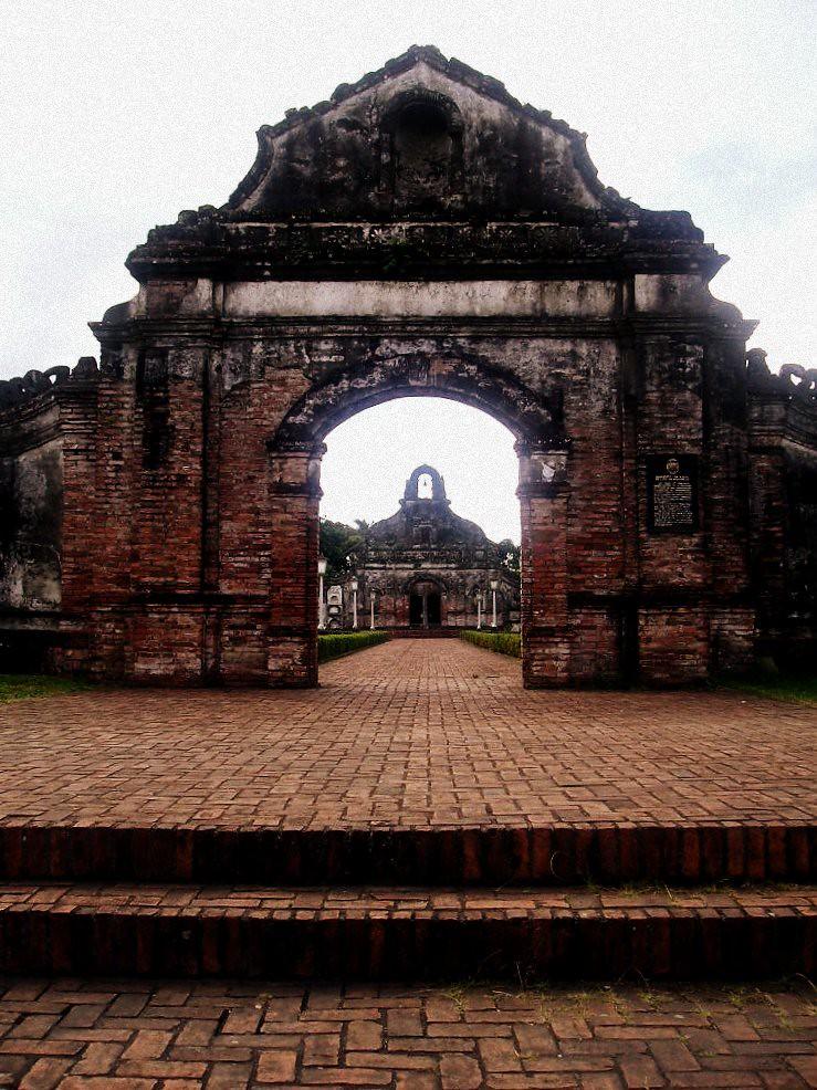 Underground Cemetery Nagcarlan Laguna Built In 1851