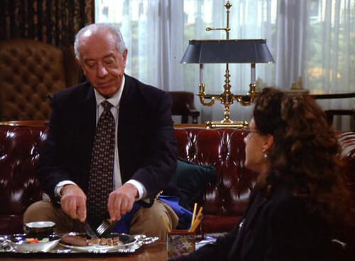 Seinfeld 6x03 The Pledge Drive Snickers Bar In This