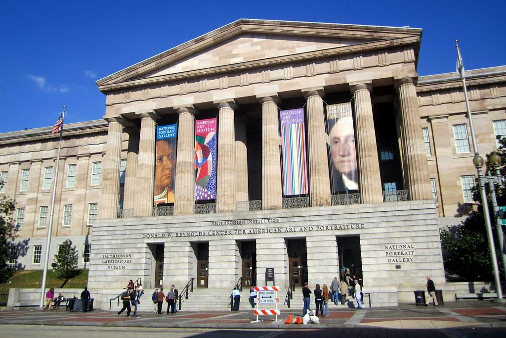 Smithsonian Art Gallery Dc Map